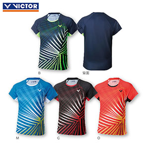 Victor Badminton Jersey 2018 Women Badminton Training T-shirt Ladies Victor T-81008