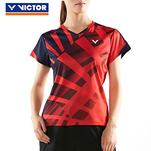 Victor Badminton Jersey 2018 Women Badminton Tournament T-shirt Victor T-81013
