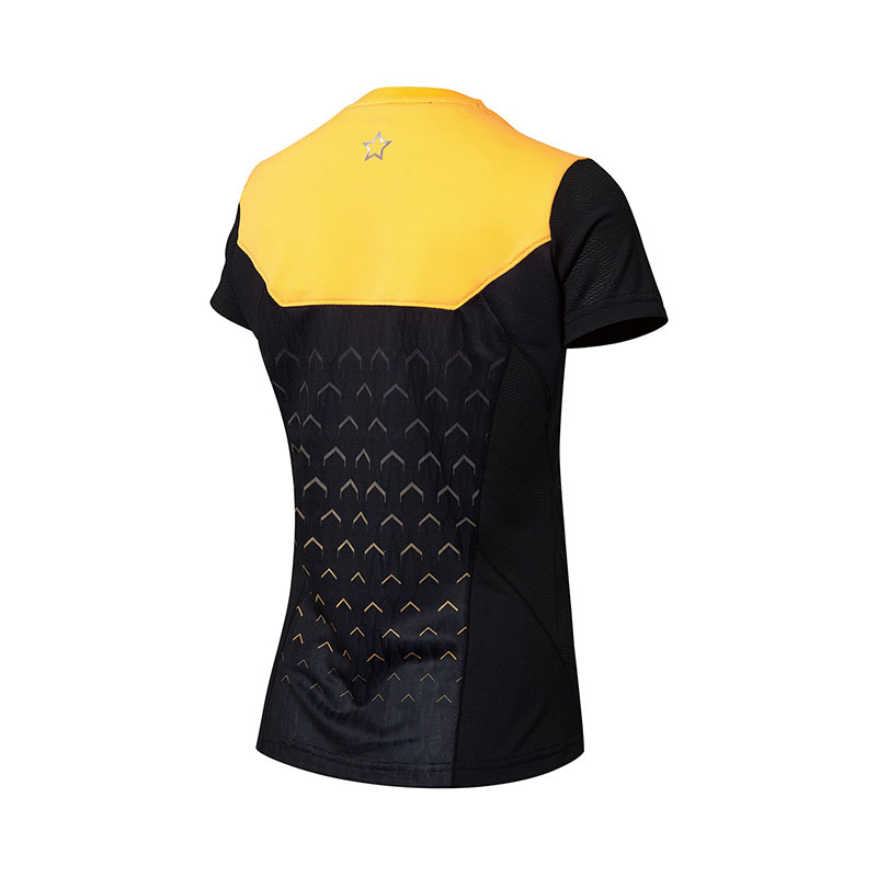 April 2018 Li-Ning PingPong Jersey Women Qatar Table Tennis T-shirt Lining AAYN052-1 AAYN056-1