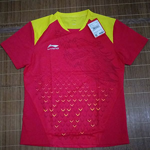 2018 China Open Li-Ning PingPong Jersey Men Table Tennis T-shirt Lining AAYN175