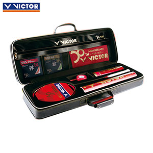 Victor Badminton Racket: 2018 50TH Anniversary Badminton Racket Gift Box Set,Victor 50TH
