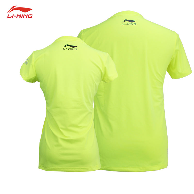 2018 Li-Ning PingPong Training Cultural Shirt Women Men Table Tennis T-shirt Lining AHSN246-1 AHSN239-1