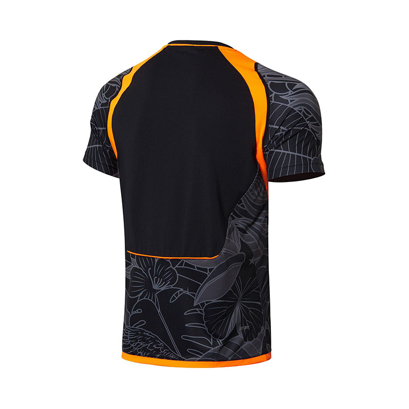 Men Badminton Jersey: 2018 Li-Ning Cool Badminton Tournament T-shirt,Li-Ning AAYL111