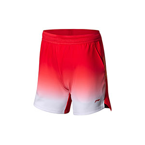 2018 Li-ning Badminton World Championships Asian Championships Women Badminton Shorts, Li-ning AAPN006-1-2