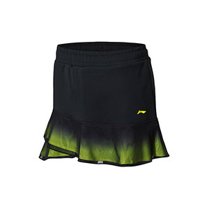 2018 Li-ning Badminton World Championships Asian Championships Women Badminton Short Skirt, Li-ning ASKN006-1-2