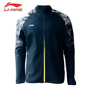 2018 Li-ning Badminton World Championships Asian Championships Receiving Awards Men Badminton Jacket, Li-ning AYYN013-1-2