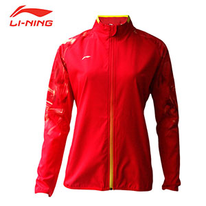 2018 Li-ning Badminton World Championships Asian Championships Receiving Awards Women Badminton Jacket, Li-ning AYYN014-1-2