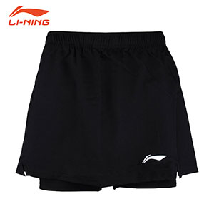 2017 Li-Ning PingPong World Championships Table Tennis Women Short Skirt Lining ASKM074