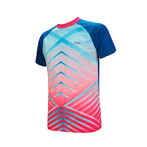 Men Badminton  Jersey: 2018 Li Ning Profession Badminton T-shirt,Li-Ning AAYN029