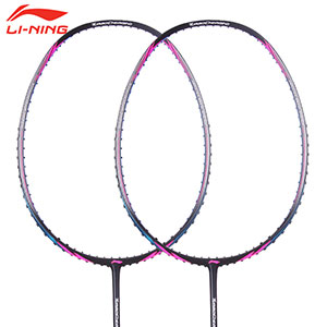 Li Ning Badminton Racket 2018 Turbo Charging 7II TD 9II TD Badminton Racket Full Carbon,Li-ning AYPM318-1 AYPM316-1