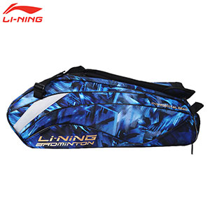 Li-Ning Badminton Bag: 2018 6 Racket Badminton Tournament Bag,Li-ning ABJN088