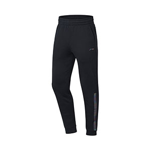 Li-ning Badminton Trousers 2018 Men Badminton Trousers Sports Warm Pants Li Ning AKLN941-1