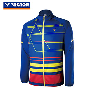 Victor Badminton Jacket 2018 Malaysia South Korea Men Badminton Jacket Slim Style Victor J-85600C J-85601F