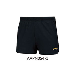 Li-Ning Table Tennis Shorts 2018 Asian Games Women Ping pong National Team Shorts Li-ning AAPN054