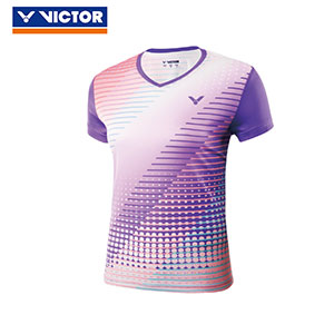 Victor Badminton Jersey 2018 Women Badminton Tournament T-shirt Victor T-81040