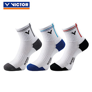 VICTOR badminton Socks 2018 sports professional socks Men VICTOR SK112