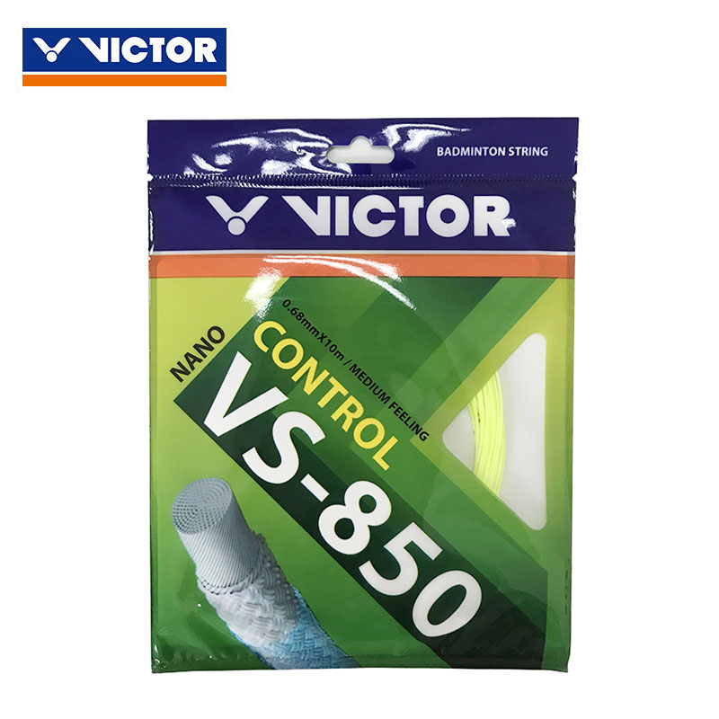 VICTOR Badminton String 2018 Badminton String 10M 0.68MM VICTOR VS-850