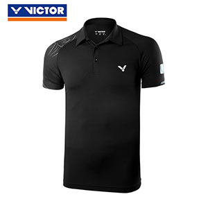Victor Badminton Jersey 2018 Victor China Open Badminton Tournament Polo T-shirt Victor S-80081