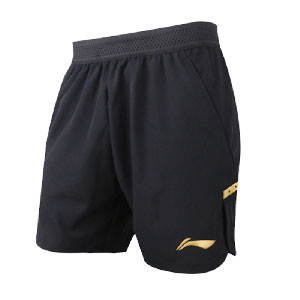 Li-Ning Table Tennis Shorts 2018 Asian Games Men Ping pong National Team Shorts Li-ning AAPN295-1