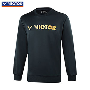 Victor Badminton Sweater 2018 Knitted Round Neck Thick Long-Sleeved Tshirt Badminton Victor T-85105