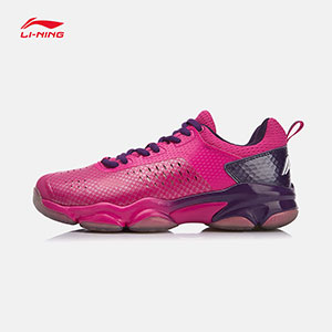 Li-ning Badminton shoes 2018 Women Badminton Professional Shoes, Li ning AYZN006-1-2