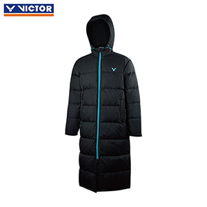 VICTOR Badminton Long Down Jacket 2018 Thick Warm Badminton Jacket VICTOR J-85703