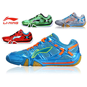 Li-ning Badminton Shoes 2014 Affixed To The Ground Men Tournament Shoes AYAJ011-1-2-3-5
