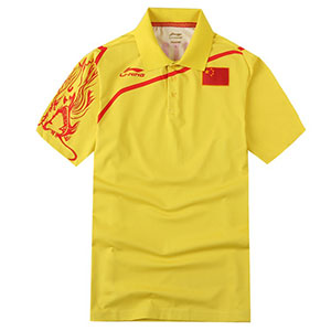 Li-Ning Table Tennis T-shirt National Team Sponsorship Men Table Tennis Jersey Li-ning CP-2