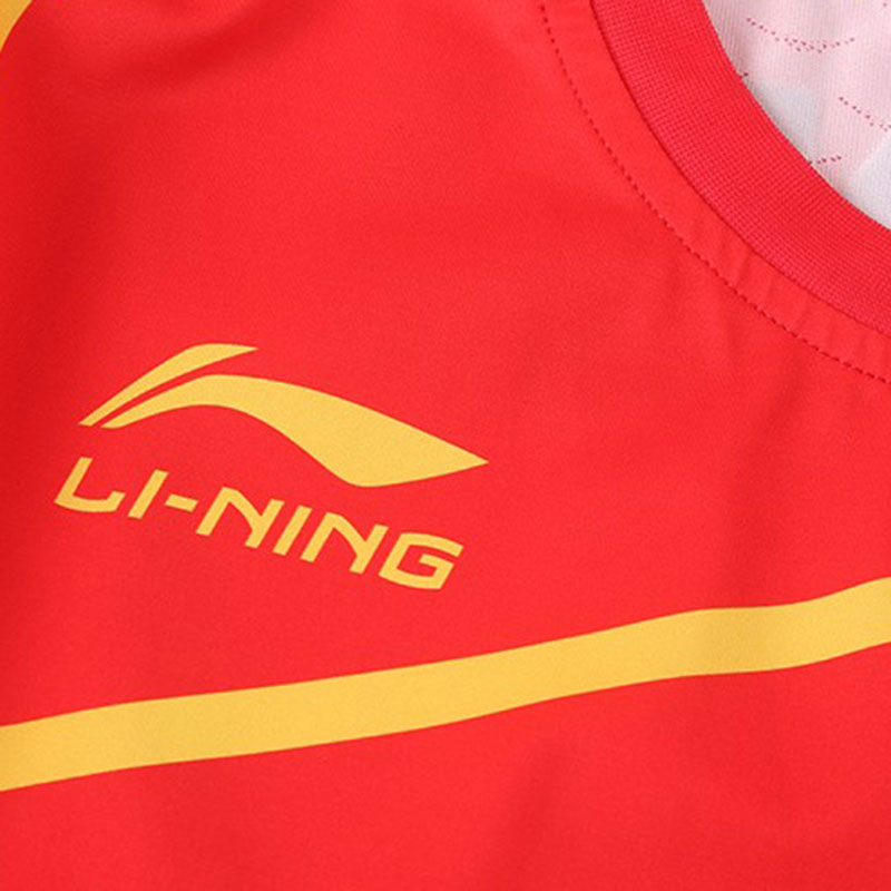 Men Table Tennis Jersey China Table Tennis Team Competition T-Shirt Sponsorship Li-ning CP-1