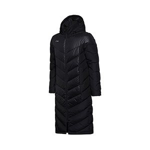 LiNing Long Down Jacket 2018 Warm Hooded Jacket Li-ning AYMM115