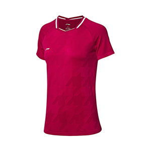 Women Badminton Jersey: 2019 Li-Ning All England Badminton Tournament T-shirt TD ,Li-Ning AAYP026