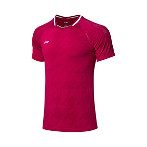 Men Badminton Jersey: 2019 Li-Ning All England Badminton Tournament T-shirt,Li-Ning AAYP023