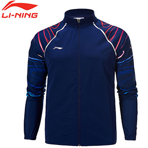 Men Badminton Jacket: 2019 Sudirman Cup Li-Ning Badminton Jacket ,Li-Ning AYYP003-1-2