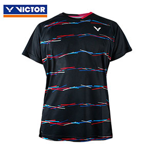 Victor Badminton Jersey 2019 South Korea Team Women Badminton T-shirt Victor T-91000TD