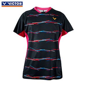 Victor Badminton Jersey 2019 South Korea Team Women Badminton T-shirt Slim Style Victor T-91000 Y