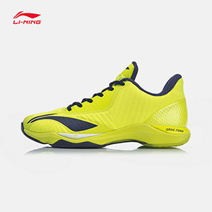 Li-ning Badminton shoes 2019 Men Profession Badminton shoes DRIVE FOAM Li ning AYZP003