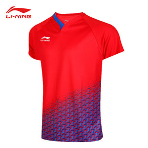 Li-Ning Table Tennis T-shirt 2019 Men Table Tennis National Team Jersey TD Li-ning AAPY087 AAPY085