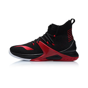 Li-Ning Basketball Shoes 2019 One-piece woven breathable high-top Men Professional Basketball Shoes ABAP057-1-2-3