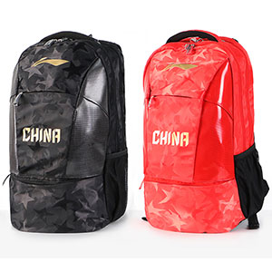 Li Ning Table Tennis Backpack 2019 Pingpong National Team Sponsorship Bag Lining ABSP102
