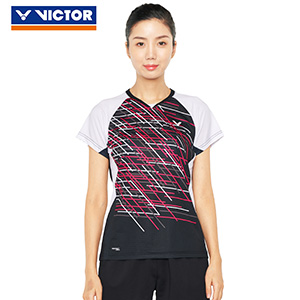 Victor Badminton Jersey 2019 Profession Women Badminton T-shirt Victor T-91010