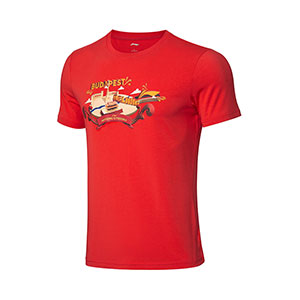 Li-ning Pingpong Jersey 2019 World Championships Table Tennis T-shirts Lining AHSP659-1-2