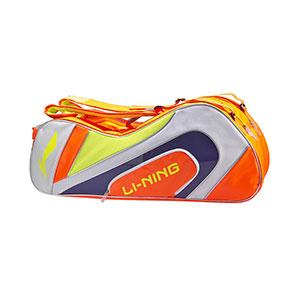 Li-Ning Badminton Bag: 2019 Li Ning 10th Anniversary 6 Racket Badminton Bag,Li-ning ABJP068-1-2-3
