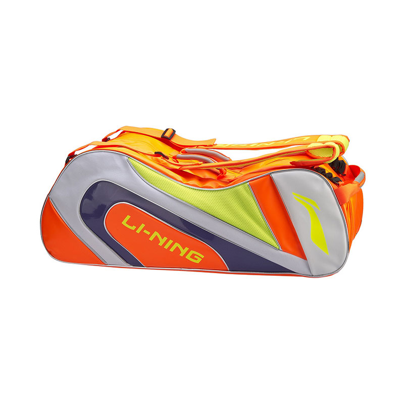 Li-Ning Badminton Bag: 2019 Li Ning 10th Anniversary 9 Racket Badminton Bag,Li-ning ABJP046-1-2-3