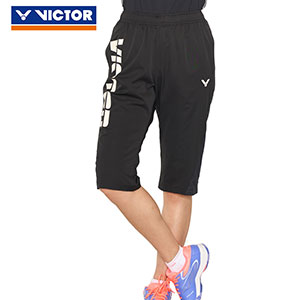 Victor Badminton cropped pants 2019 Victor Badminton Knit sports Capri pants Victor R-90210