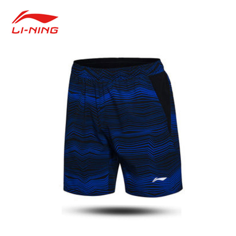 Men Badminton Shorts 2017 Li-Ning  Elastic Tight Badminton Tournament Shorts Lining AAPM151