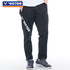 Men Badminton Trousers: 2019 Victor Badminton Straight Sports Pants, Victor P-95800