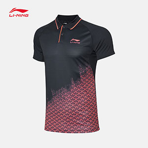 Li-Ning Table Tennis T-shirt 2019 Men Table Tennis Jersey TD Li-ning AAPY083