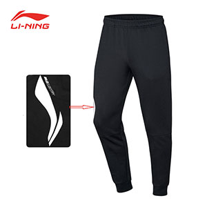 Li-ning Badminton Trousers 2019 Men Badminton Sports Running Leisure Pants Li Ning AKLP727-1
