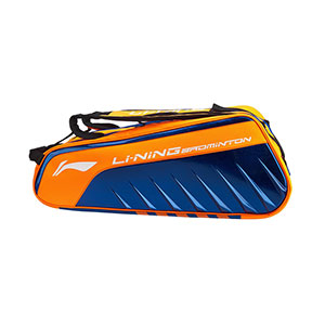Li-ning 6 Racket Badminton Bag 2019 Badminton Tournament Bag Zhang Nan Li-ning ABJP078