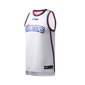 Li ning Basketball Jersey 2019 CBA Tianjin Team Basketball Tournament Jersey Li-ning AAYP451-1